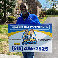 Free Estimate - Crawl Space Brothers Nashville TN | Happy Customer: Julian Griffen - 1104 Warrior Drive, Franklin TN 37064