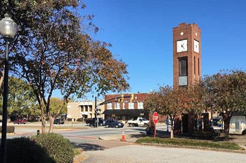 Simpsonville SC Service Area